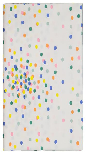 HEMA Tafelkleed Papier 138x220 Confetti
