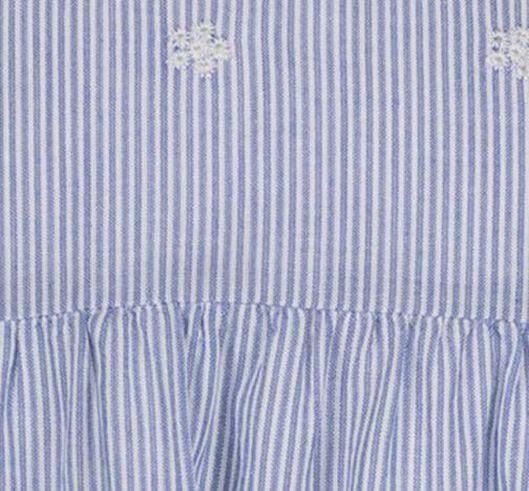 kinderjurk blauw blauw - 1000019030 - HEMA