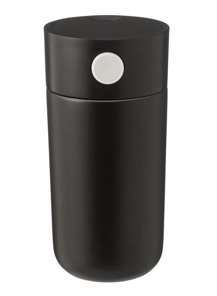 coffee to go fles - rvs - 250ml - zwart - 80630165 - HEMA