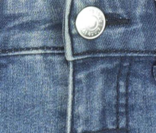 kinder jeans regular fit denim 128 - 30762436 - HEMA