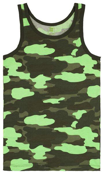 kinderhemden camo 2 stuks donkergroen donkergroen - 1000022744 - HEMA