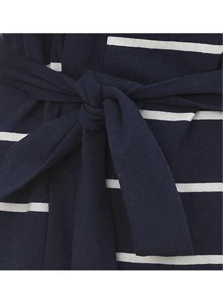 dames badjas donkerblauw donkerblauw - 1000007656 - HEMA