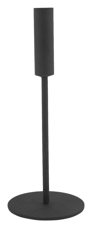 HEMA Kandelaar Ø10.5x26 Metaal Zwart (zwart)