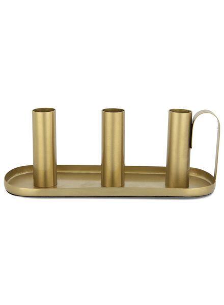 kandelaar - 8.3 x 22.2 cm - goud - 13392048 - HEMA