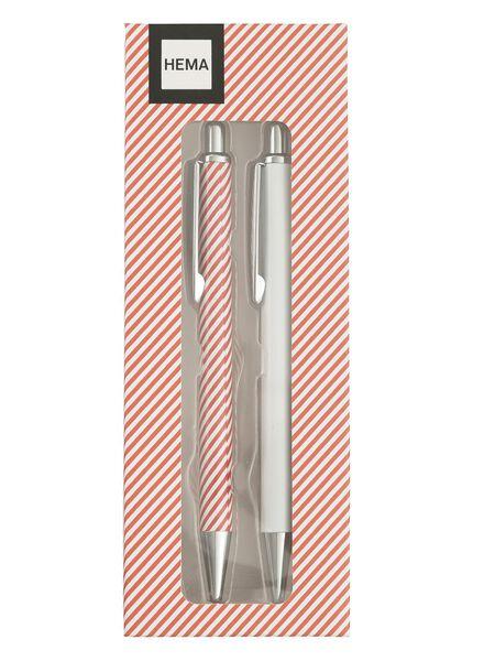 2-pak pennen - 60700267 - HEMA