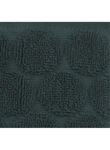 gastendoek - zware kwaliteit - donkergroen stip - 5220010 - HEMA