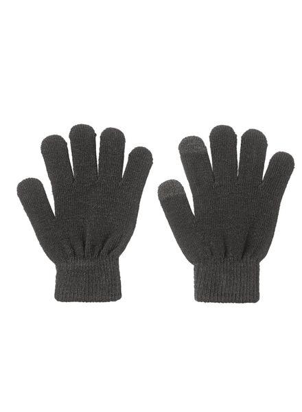 kinderhandschoenen zwart 146/164 - 16780123 - HEMA