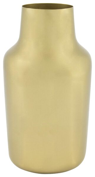 vaas - 22 x Ø 11 cm - goudkleurig metaal - 13321021 - HEMA