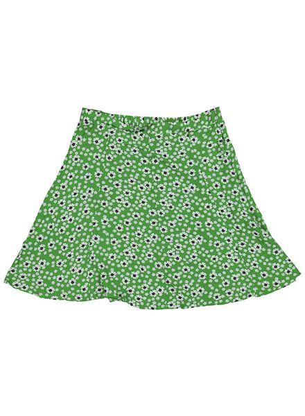damesrok groen groen - 1000013822 - HEMA