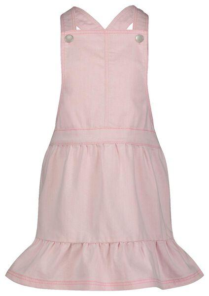 kinder salopette roze 122/128 - 30800570 - HEMA
