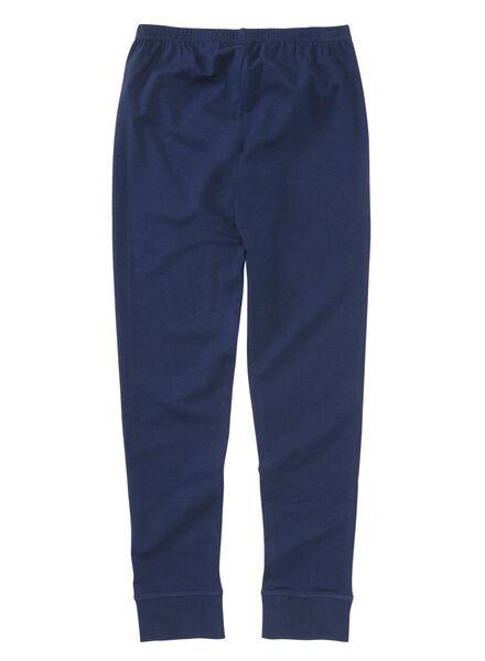 kinderpyjama donkerblauw donkerblauw - 1000002747 - HEMA