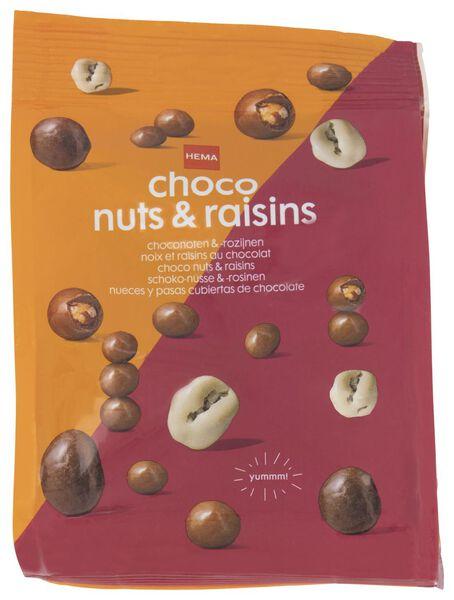 choco noten en rozijnen - 150 gram - 10380030 - HEMA