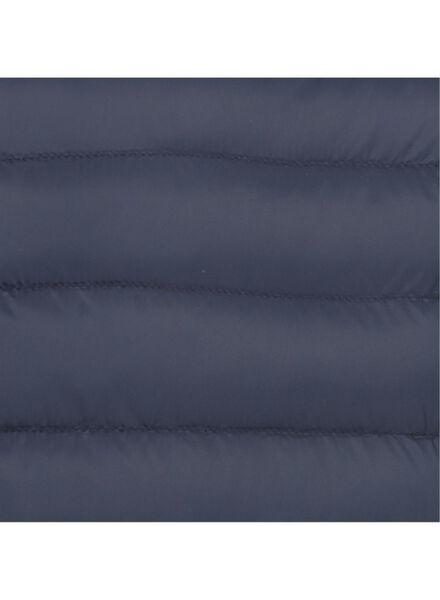 herenjack met capuchon - gewatteerd donkerblauw donkerblauw - 1000014897 - HEMA