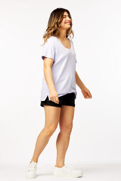 dames t-shirt lila lila - 1000023955 - HEMA