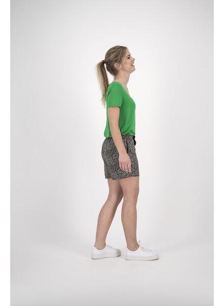 dames t-shirt groen groen - 1000013717 - HEMA