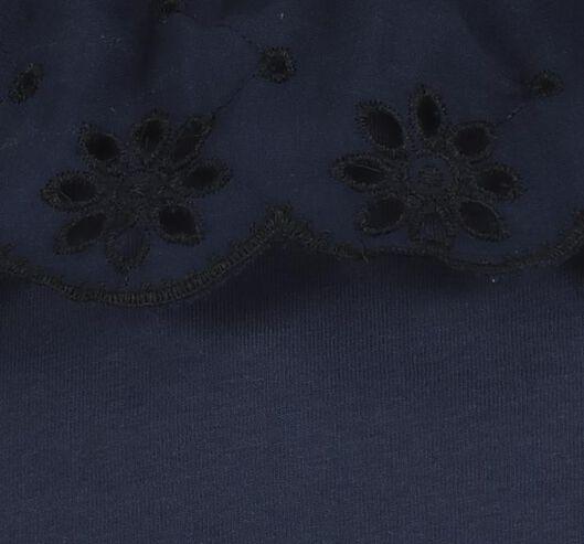 kinder t-shirt donkerblauw donkerblauw - 1000019701 - HEMA