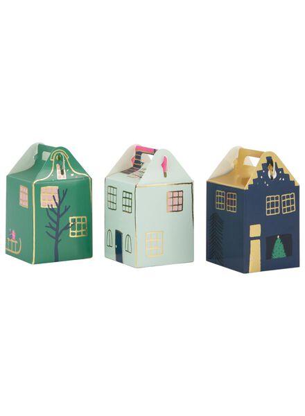 cadeaudoosjes huisjes - 12 stuks - 60800779 - HEMA
