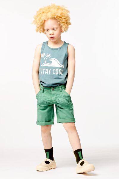 kindershort groen - 1000023888 - HEMA