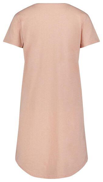 damesnachthemd sand and sea roze S - 23400491 - HEMA