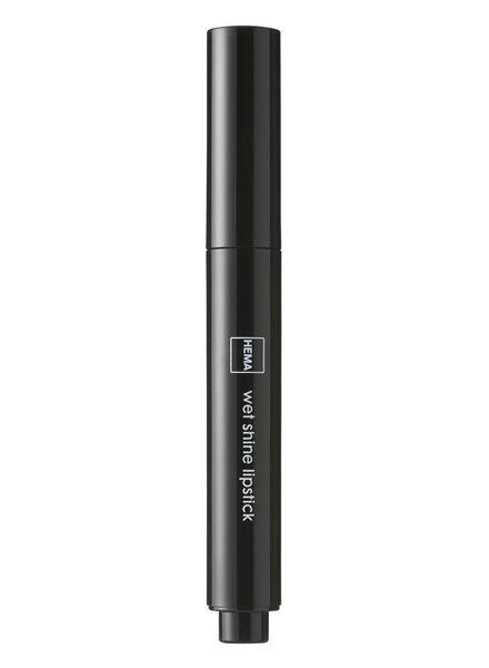 wetshine lippenstift roarange - 11231402 - HEMA