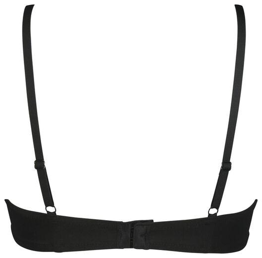 padded bh ultimate comfort zwart zwart - 1000022967 - HEMA