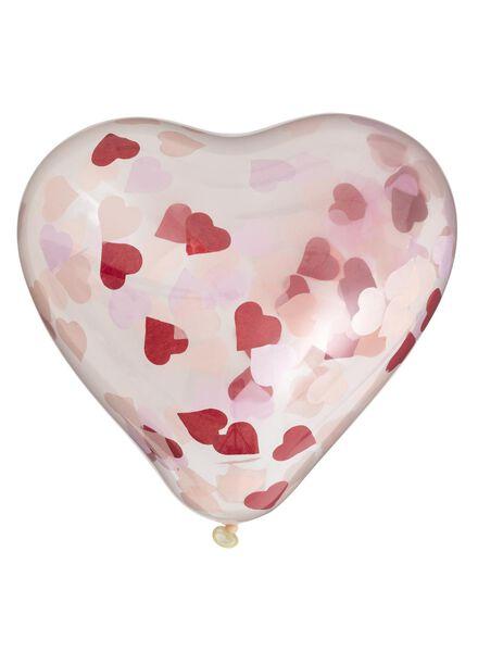 6-pak confetti ballonnen - 60800550 - HEMA