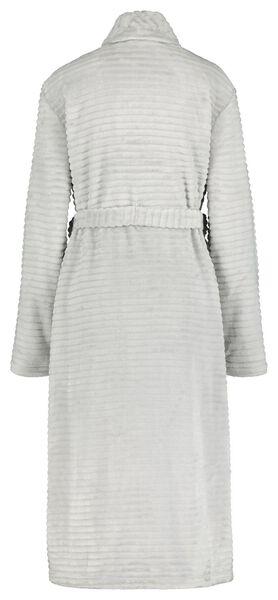 damesbadjas fleece grijs L/XL - 23420042 - HEMA
