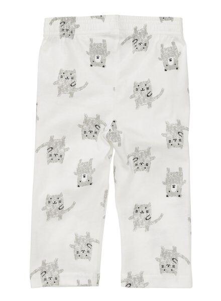 baby pyjama wit wit - 1000005011 - HEMA