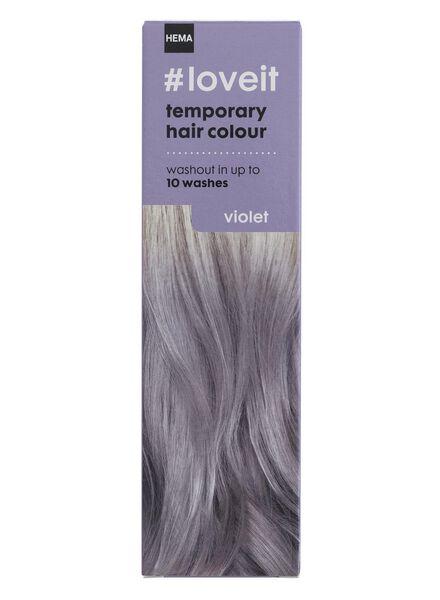 tijdelijke haarkleuring violet - 11030003 - HEMA