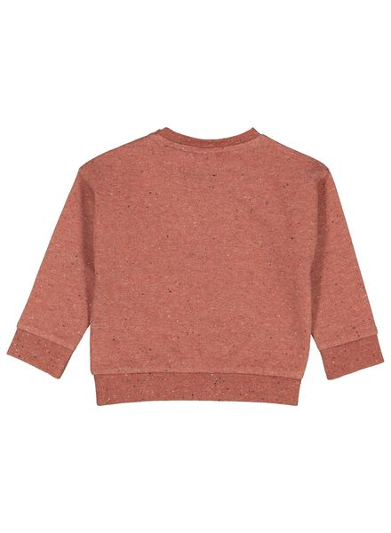 babysweater vos donkerrood donkerrood - 1000017396 - HEMA