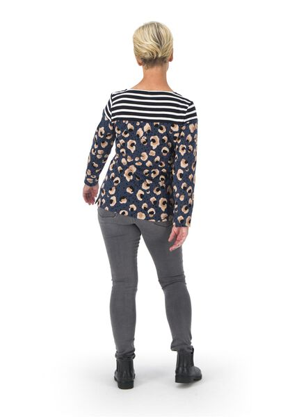 dames t-shirt bruin bruin - 1000015673 - HEMA