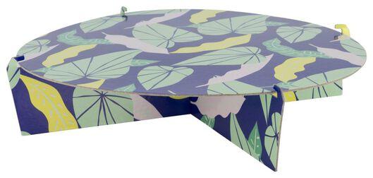 Etagère 1-laags Ø30cm bladeren