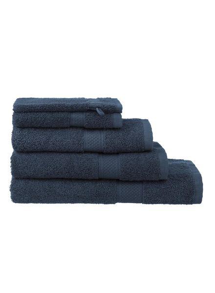handdoeken - zware kwaliteit denim denim - 1000015173 - HEMA