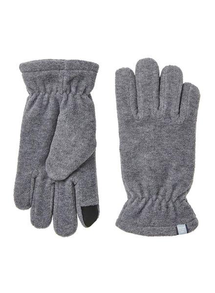 kinderhandschoenen grijsmelange grijsmelange - 1000009900 - HEMA