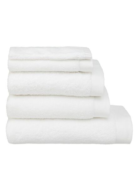 handdoeken - hotel extra zacht wit wit - 1000015150 - HEMA