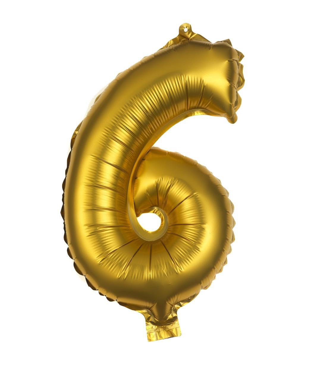 HEMA Folie Ballon 6 (goud)