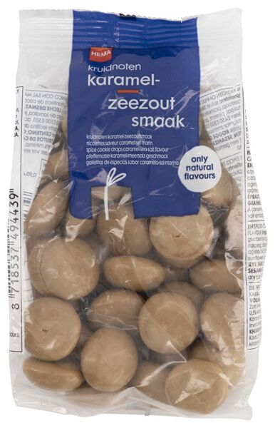 kruidnoten karamel-zeezoutsmaak - 200 gram - 10904057 - HEMA
