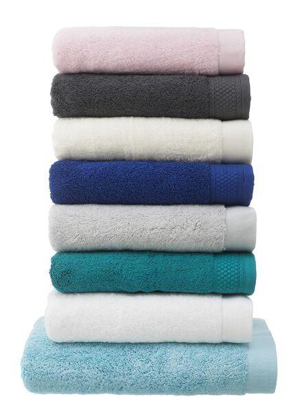 handdoek - 60 x 110 - hotel extra zacht - aqua - 5217009 - HEMA