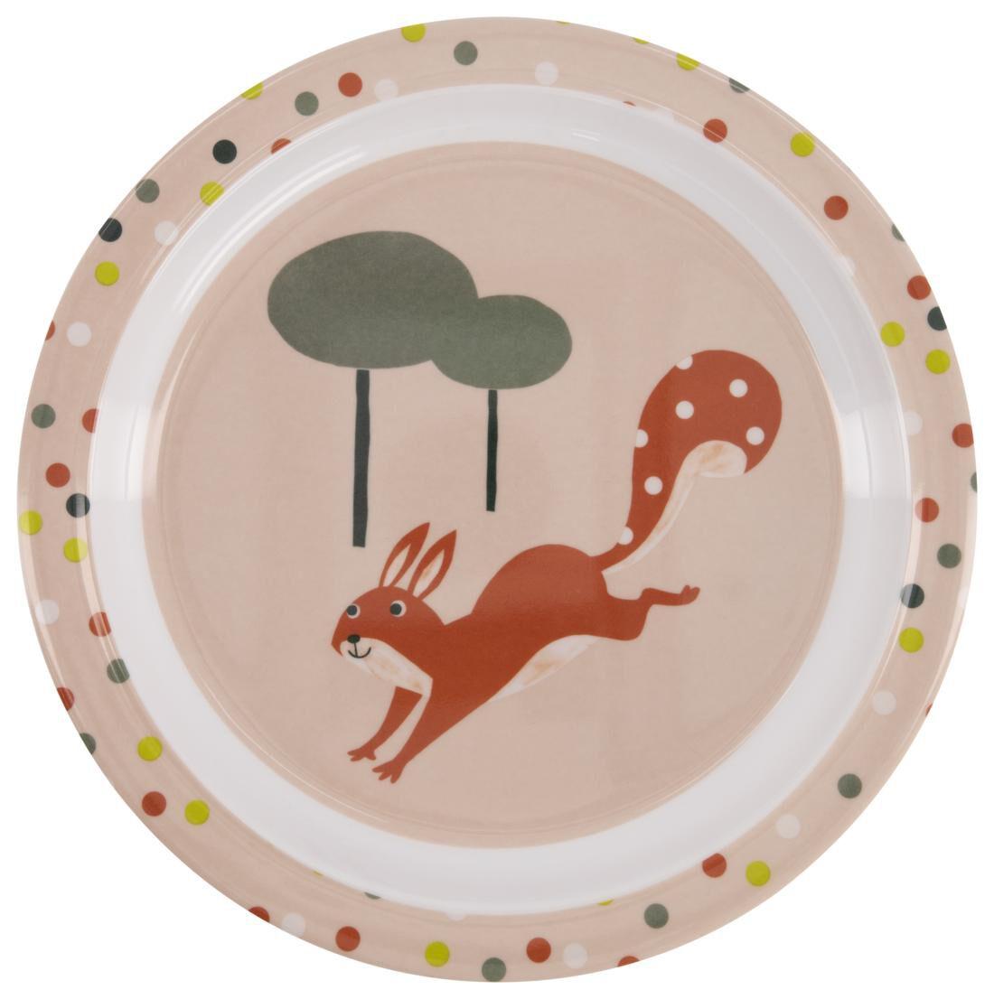 HEMA Ontbijtbord Ø 21 Cm Melamine Eekhoorn