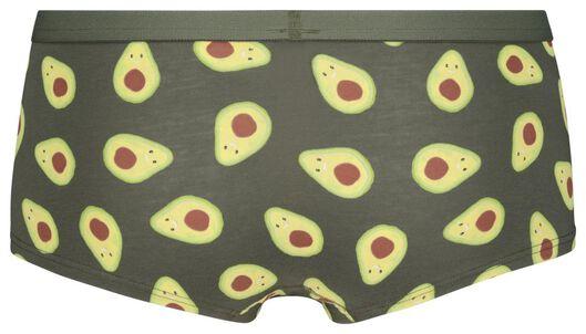 tienerboxer avocado middengroen 146/152 - 21921161 - HEMA