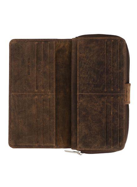 leren portemonnee - 18150142 - HEMA