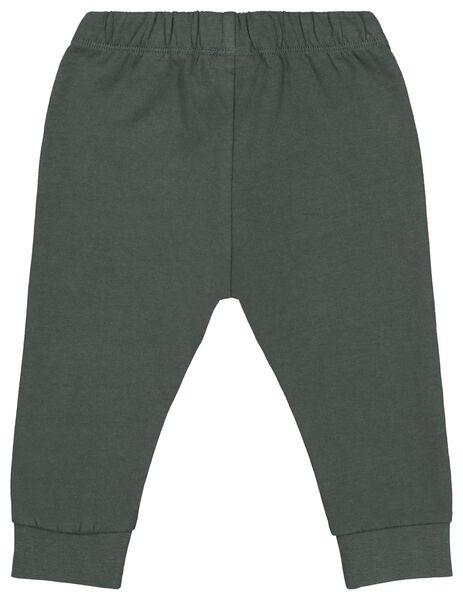 baby sweatbroek groen groen - 1000020430 - HEMA