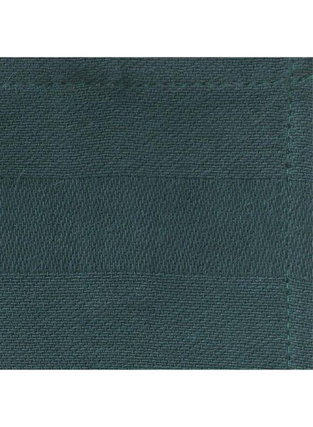 theedoek - 65 x 65 - katoen - groen theedoek groen - 5410036 - HEMA