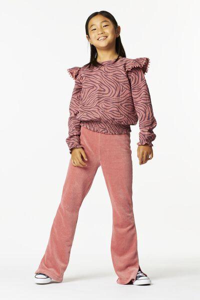 kinder top smock roze roze - 1000024983 - HEMA