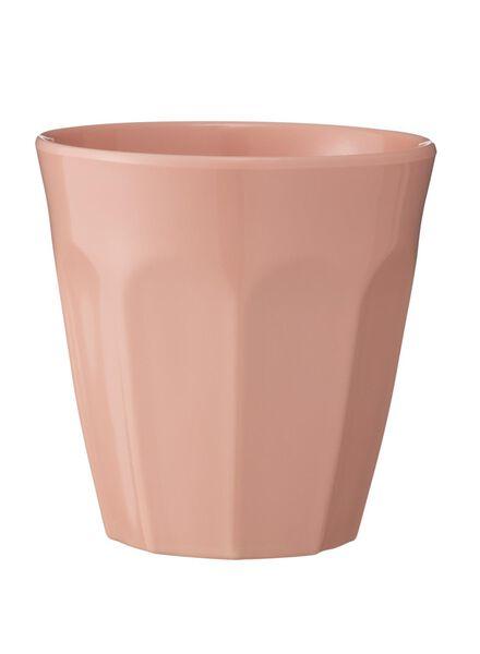 mok - 9 cm - melamine - roze - 80630526 - HEMA