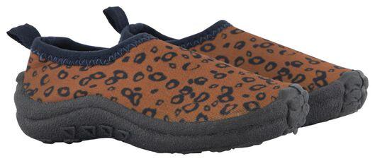 baby waterschoenen luipaard bruin bruin - 1000023846 - HEMA