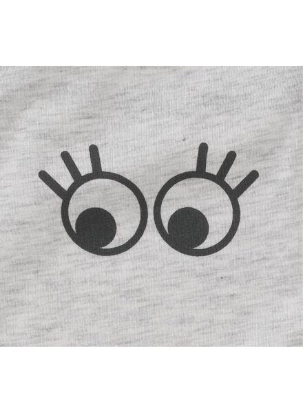 2-pak kinderhemden grijsmelange grijsmelange - 1000011773 - HEMA
