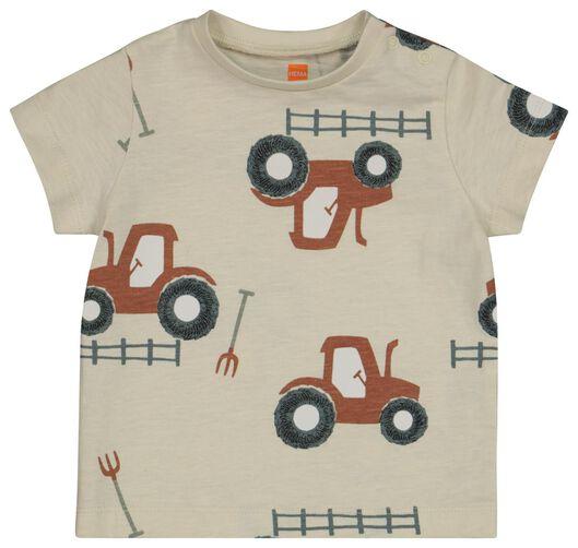 baby t-shirts - 2 stuks blauw 92 - 33109246 - HEMA