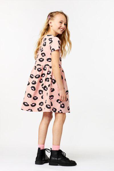 kinderjurk animal roze roze - 1000023157 - HEMA