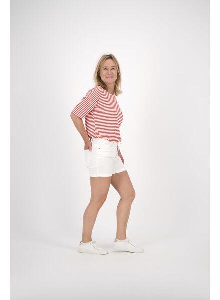 dames korte broek wit wit - 1000012785 - HEMA